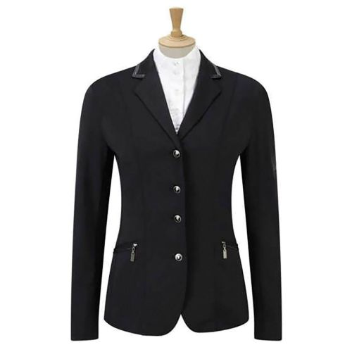 Caldene 'Cadence' Stretch Girl's Competition Jacket in Black